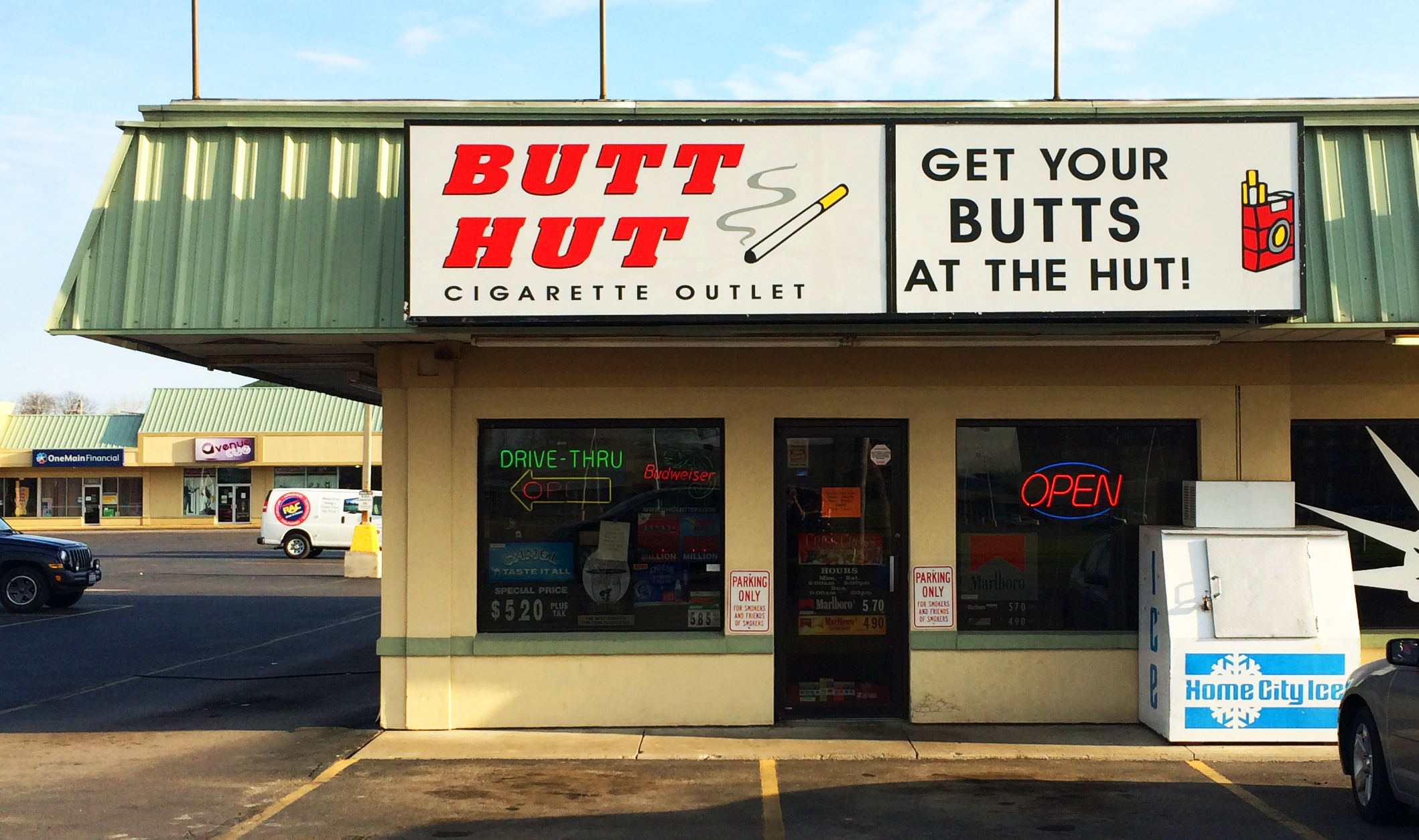 Butt Hut Ohio